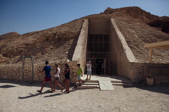 Grobnica kralja Tutankamona u kojoj je možda sahranjena i Nefertiti (Foto: Gety)