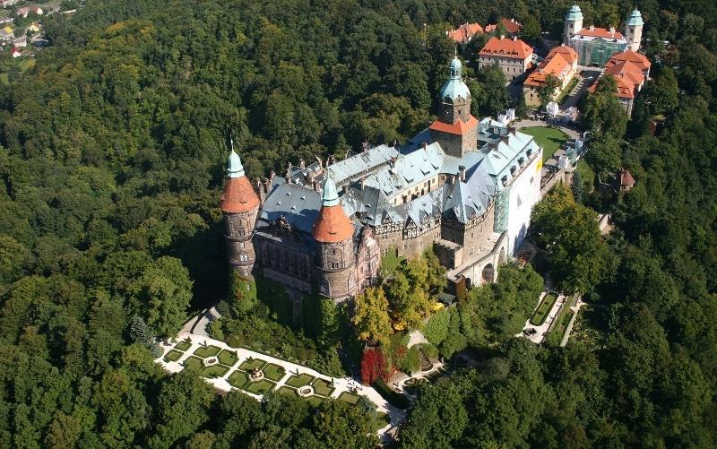 "Grandiozni dvorac ""Ksiaz"""