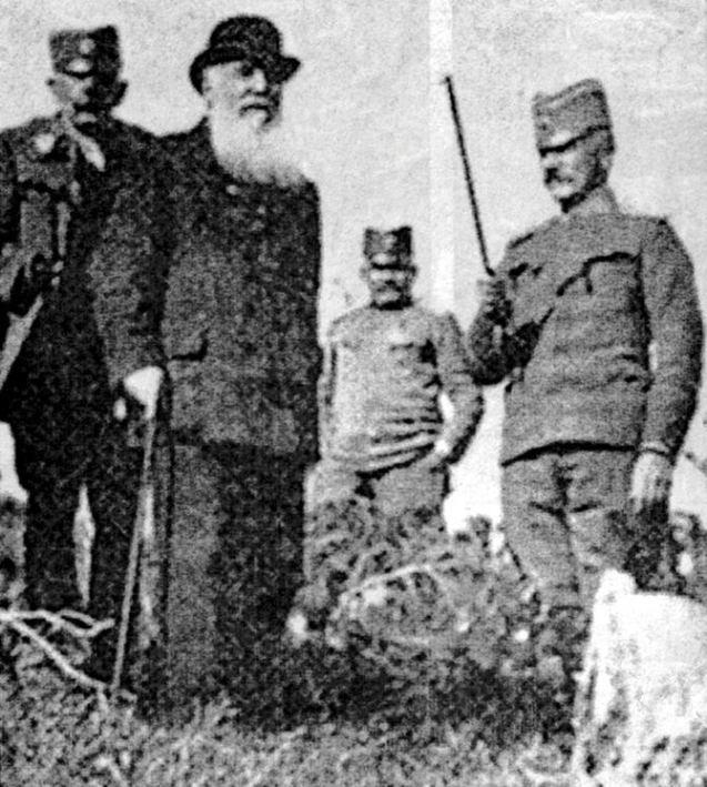 Vojvoda Živojin Mišić i Nikola Pašić.
