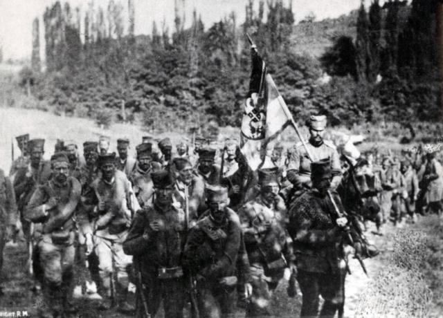 Srpska vojska u Prvom svetskom ratu.