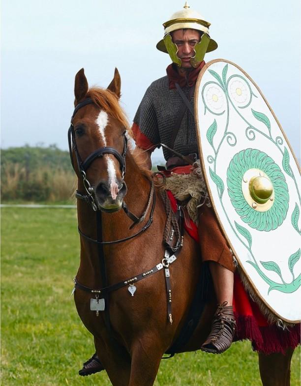 Konjanik u rimskoj vojsci.