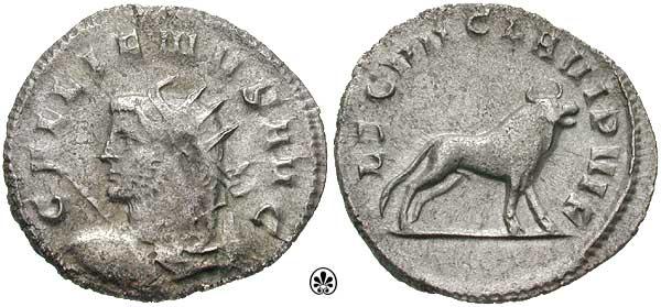Galijenov novac, u čast 7.legije Klaudije