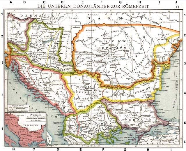 Rimske provincije na Balkanu
