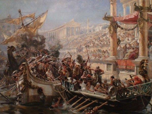 Rimljani igraju numahije
