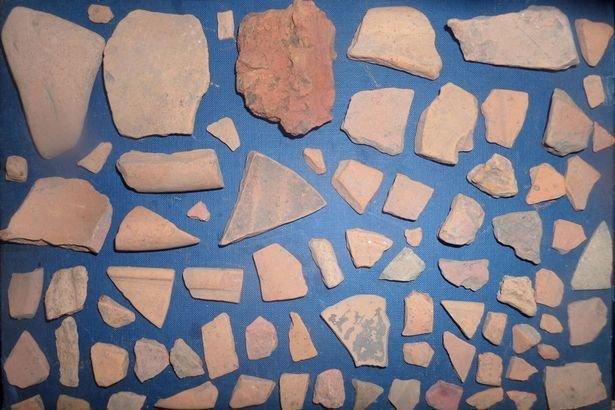 Komadi rimske keramike