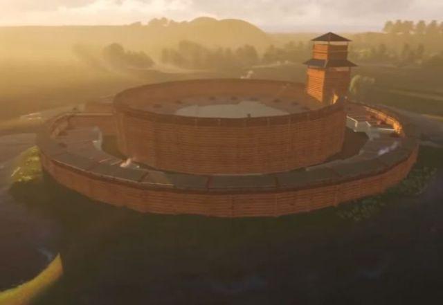 Digitalna rekonstrukcija drevnog grada Arkaim