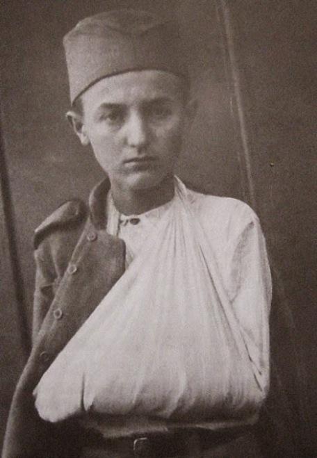 Momčilo Gavrić ranjen u proboju Solunskog fronta
