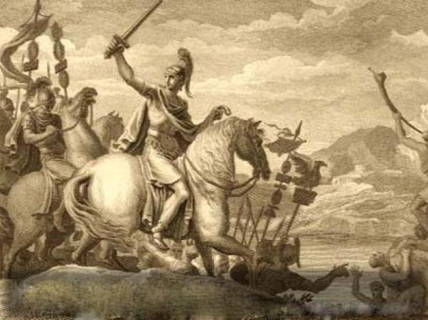 Cezar prelazi reku Rubikon