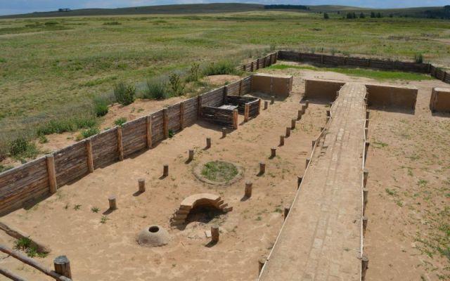 Arheološko nalazište drevnog grada Arkaim