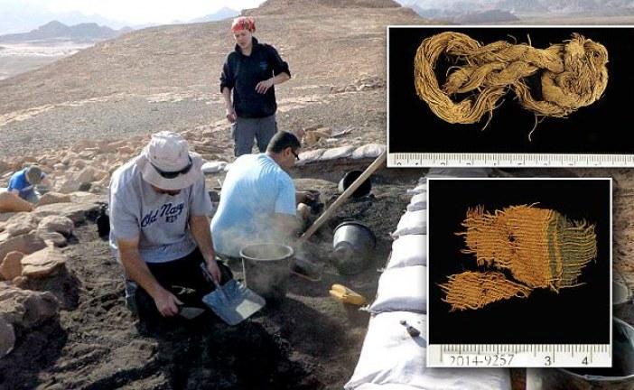 Arheolozi iskopali tkaninu koja potiče iz vremena careva Davida i Solomona