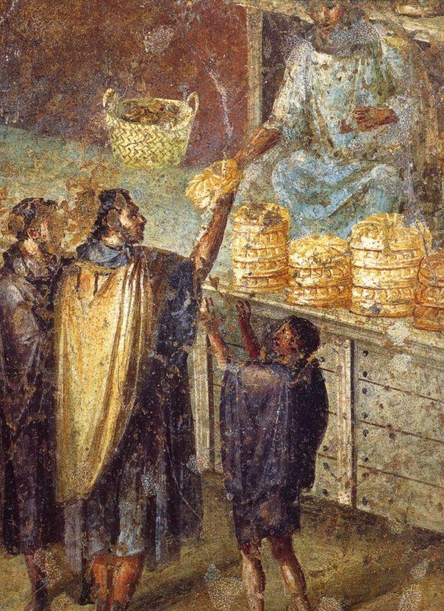 Rimska freska: Pekara