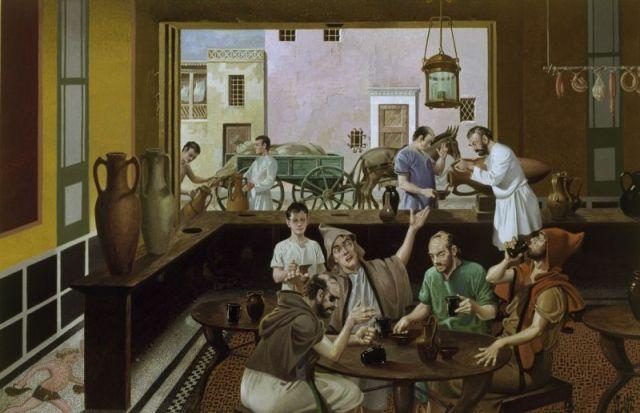 Ilustracija: Rimska taverna