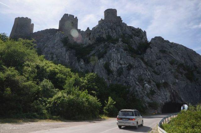 Srednjovekovna tvrđava Golubac na Dunavu, Foto: Nebojša Mandić