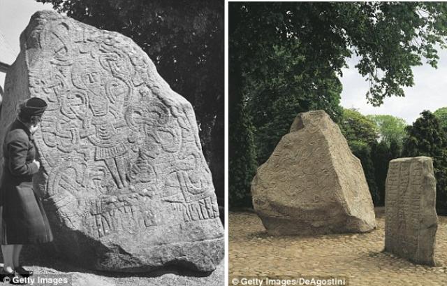 Kamene rune u selu Jeiling