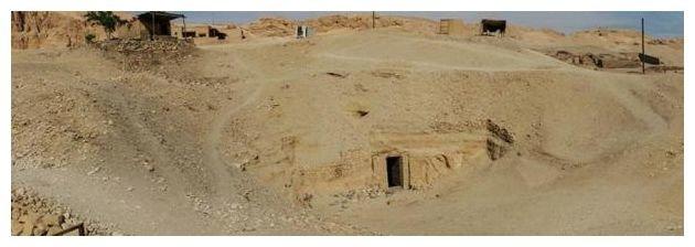 Ulaz u grobni kompleks Ozirisa