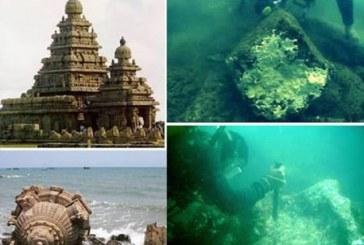 U obalnim vodama Indije pronađen legendarni drevni hram