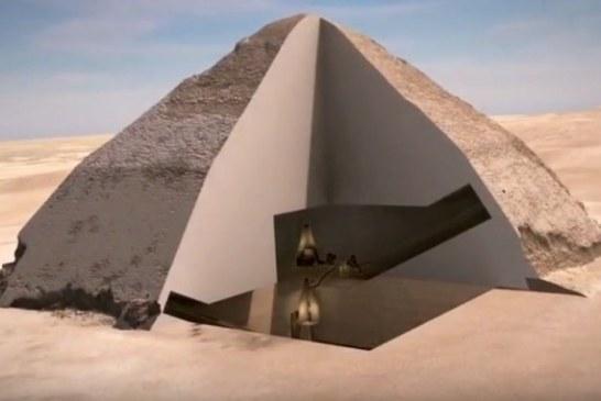 Prve 3D slike otkrivaju što se nalazi u jednoj od najstarijih piramida