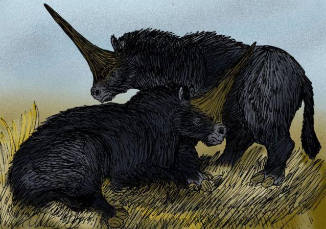 Ilustracija: Sibirski jednorog