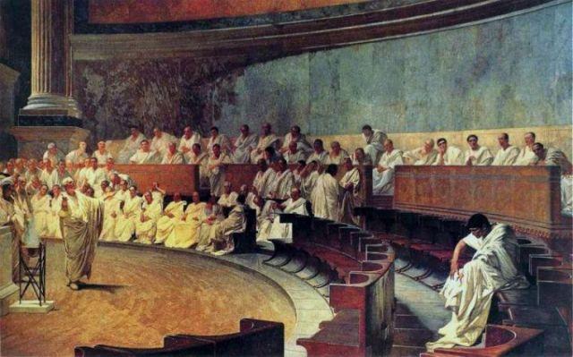 Ciceron se odriče Kataline