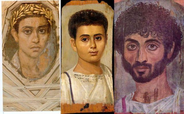 Portretne posmrtne maske rimskih mumija