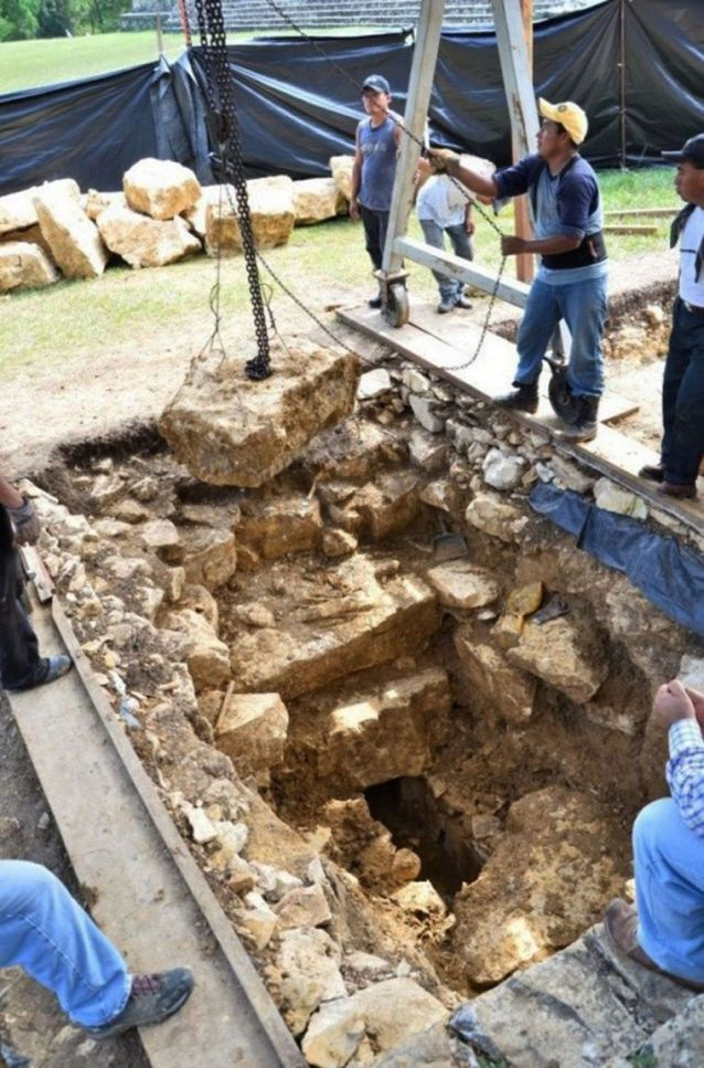 Drevni majanski vodovod ispod hrama u Palenkveu