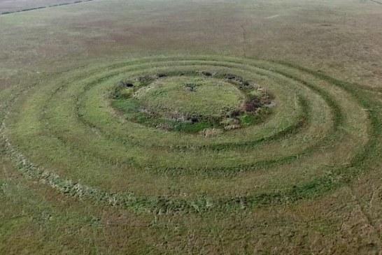 Neobični veliki koncentrični krugovi snimljeni nedaleko od Vatina