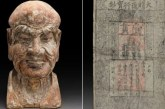 U kineskoj skulpturi pronađena retka novčanica iz dinastije Ming