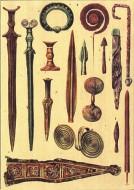 Oružje, oruđe i nakit sa karakterističnom ornamentikom metalnog doba