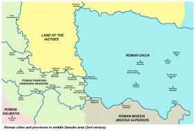 Položaj Basijane u provinciji Panonija