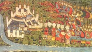 Opsada Beograda 1456. godine (minijatura)