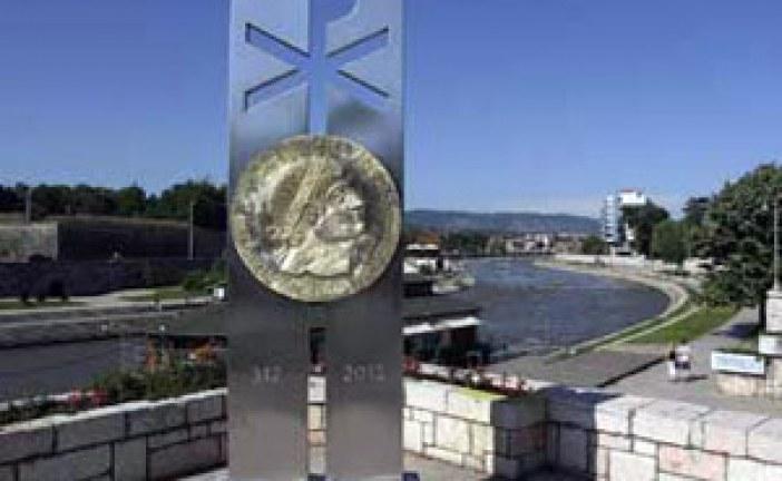 Podignuto spomen-obeležje Konstantinu Velikom