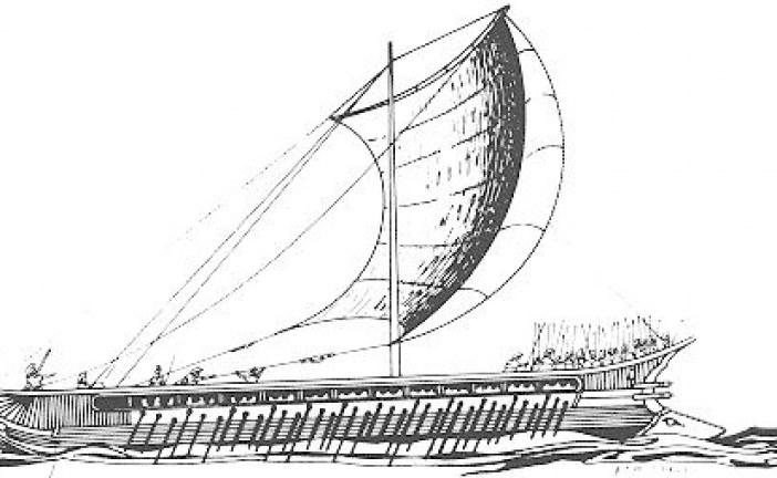Trijera – ratni brod u doba antičke Grčke