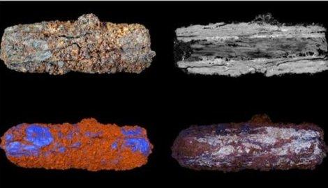 Analiza perli nađenih u grobnici