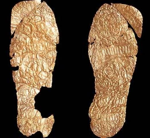 Sandale iz Trebeništa, zlato, VI-V vek pre n.e.