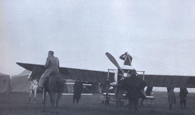 Prvi srpski аvion u Nišu 1912.