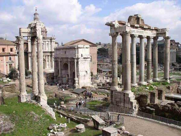 Ostaci hrama posvećenog bogu Saturnu