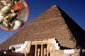 MISTERIJA BONAPARTINE VIZIJE: Šta je Napoleon doživeo unutar Keopsove piramide?