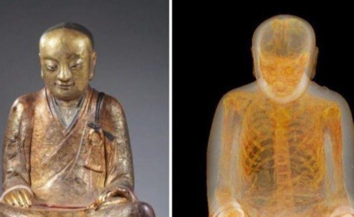 FOTO Neverovatno otkriće unutar Budinog kipa!