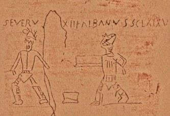 Duhovitost od pre Hrista: Drevni grafiti kriju bizaran smisao za humor starih Rimljana
