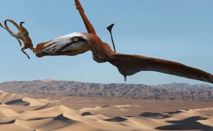 Pronađen fosil pterosaura koji je u zalogaju jeo krokodile