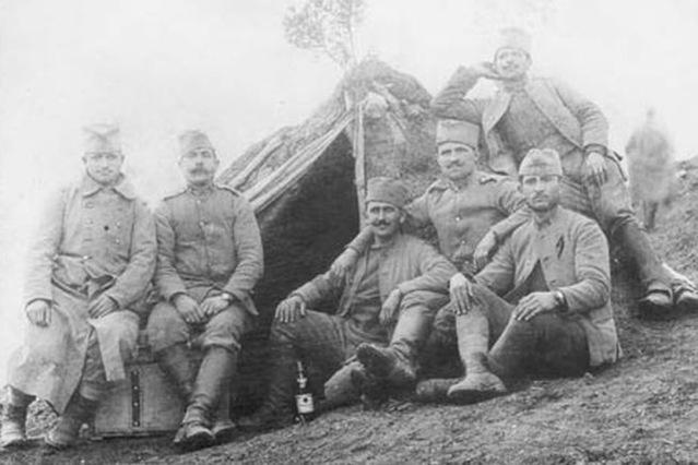 Srpska vojska na Solunskom frontu.