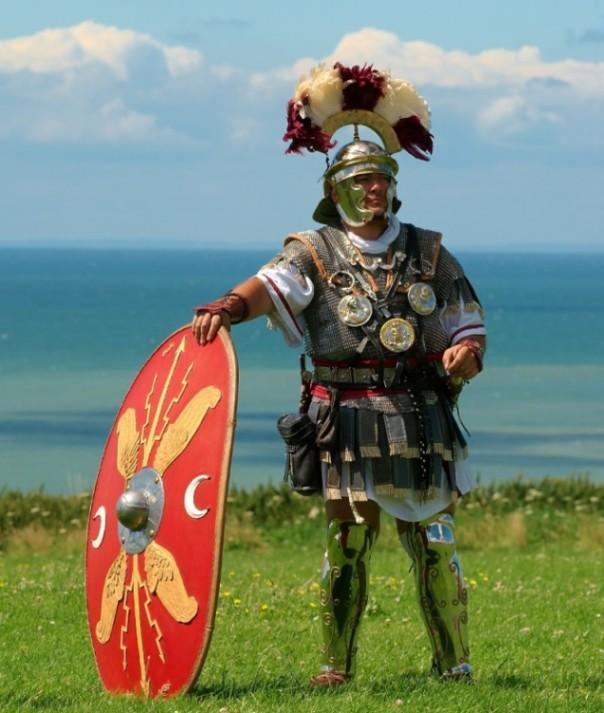 Rimski centurion je ovako izgledao.