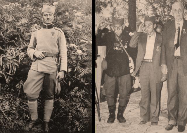 Momčilo Gavrić ponovo u vojsci 1928. godine Momčilo Gavrić na Krfu, 02.10.1983. odaje počast stradalim saborcima