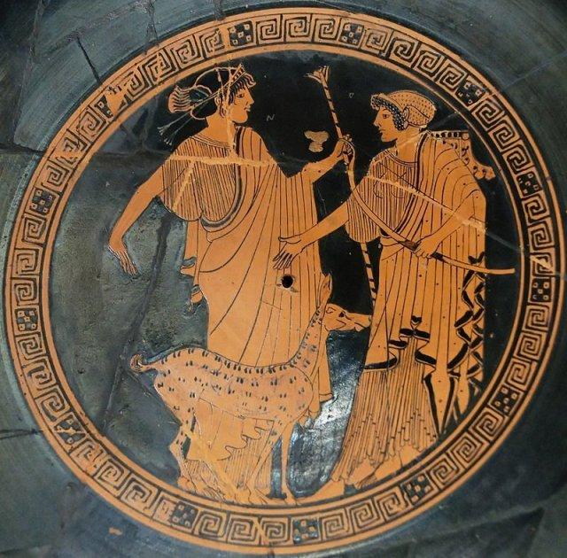 Apolon i Artemida, 5. vek pr. n. e.