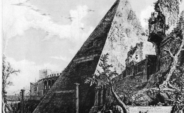 Drevna rimska piramida sagrađena pre 2.000 godina kao grobnica za rimskog pretora Gaja Cestija