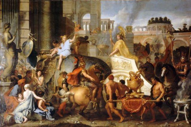 Šarl Le Brun: Ulazak Aleksandra Velikog u Vavilon