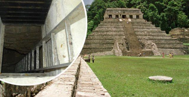 Majanska piramida u Palenkveu